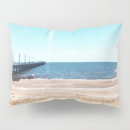 Beach Jetty Pillow Sham