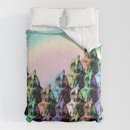 Contra Mundum Rainbow Magpies! Comforters