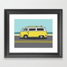 Surf Series | The Search Framed Art Print