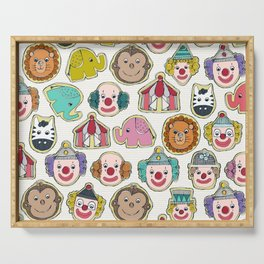 circus cookies multi Serving Tray