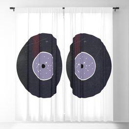 Vinyl Record Star Sign Art | Sagittarius Blackout Curtain
