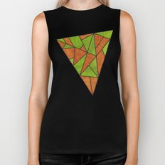 Orange loves green Biker Tank