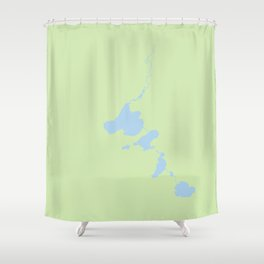 Madison Four Lakes Shower Curtain
