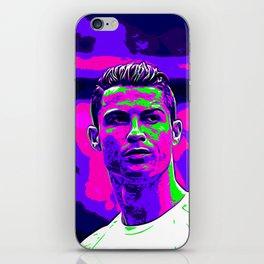 Ronaldo - Neon iPhone Skin