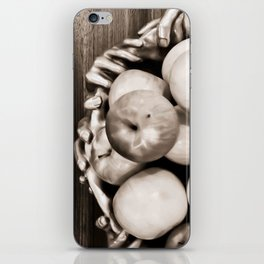 Bowl of apples iPhone Skin