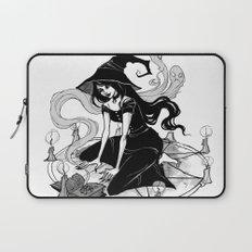 Inktober Witch Laptop Sleeve