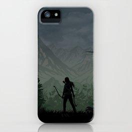 Tomb Raider   Warriors Landscapes Serries iPhone Case