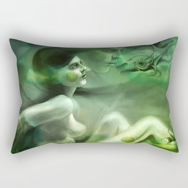 Aquatic Creature Rectangular Pillow