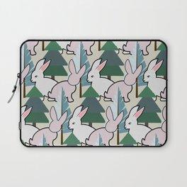 Bunnies and Trees 2 (Cute Buns) Laptop Sleeve