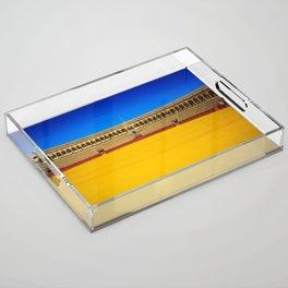 Bullring arena Acrylic Tray