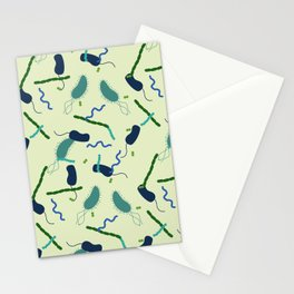 Microbes Stationery Cards