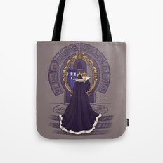 Mirror Mirror on the Wall...Who's the Doctor Come to Call? Tote Bag