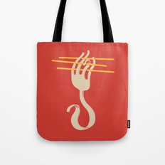 Fork & Pasta Tote Bag