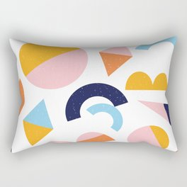 Happy Shapes Rectangular Pillow