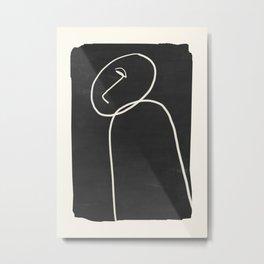 Minimal Abstract Art 38 Metal Print