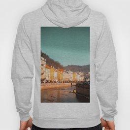 Karlovy Vary cityscape Hoody