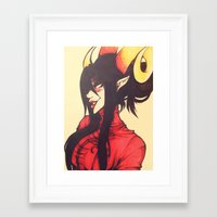 homestuck Framed Art Prints featuring Witch of Time by Lokyism