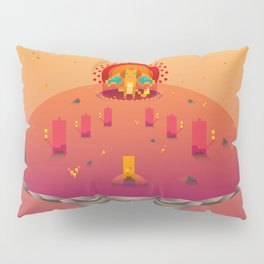 Red Family from Gameboy Pillow Sham