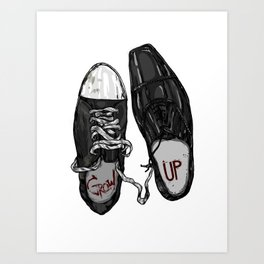 Grow Up Art Print