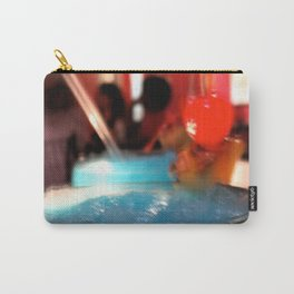 Blue Red Cereza Carry-All Pouch
