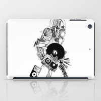 hip hop iPad Cases featuring Hip-Hop Homer by abstractrebel