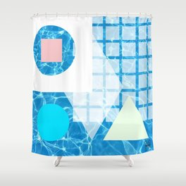 Float Angeles Shower Curtain