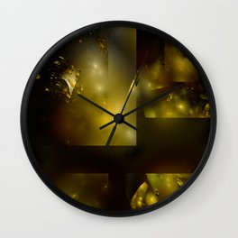 Space Debris 2 Wall Clock