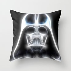 Darth Vader Electric Ghost Throw Pillow