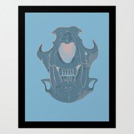 Jaguar Skull Art Print