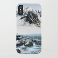 Up to the Mountains iPhone X Slim Case