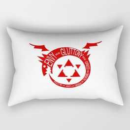 Homunculus Trending Rectangular Pillow