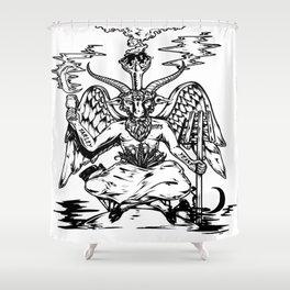 Ale Satan Shower Curtain
