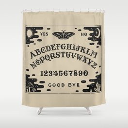 Spirit Board Shower Curtain