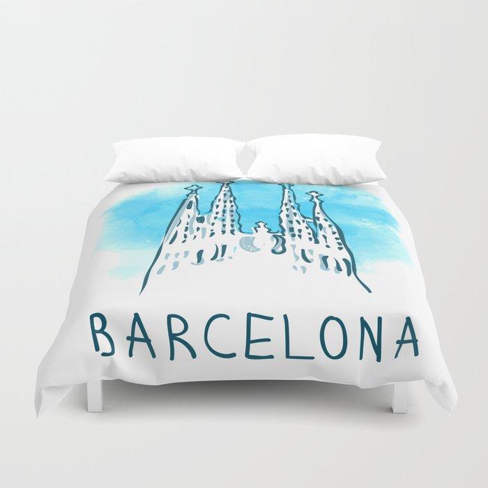 Barcelona 02 Duvet Cover