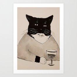 Blackie  Art Print