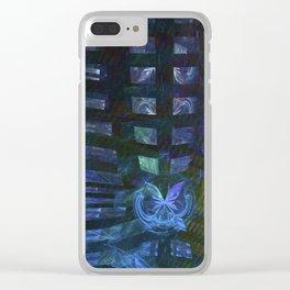 Schmetterling-Effekt Clear iPhone Case