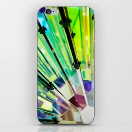 Abstract Kaleidoscopic Colour Riot iPhone Skin