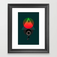 Swing-Wing Framed Art Print