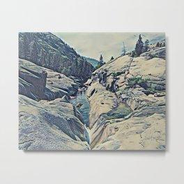 Kings Canyon, California Metal Print