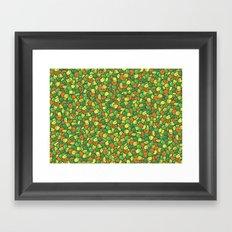 Peas, Carrot & Corn Framed Art Print