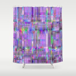 Re-Created CornerStone3.26.14 by Robert S. Lee Shower Curtain
