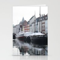 denmark Stationery Cards featuring Denmark by Kayleigh Rappaport