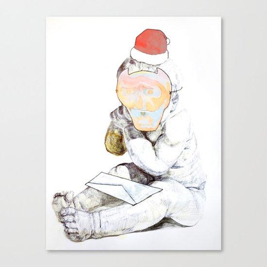 Aprés Noël Canvas Print