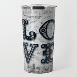 Mystic Blue Love Travel Mug