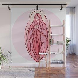 Mother Vulva Wall Mural