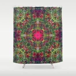 Gomphrena Flowers Shower Curtain