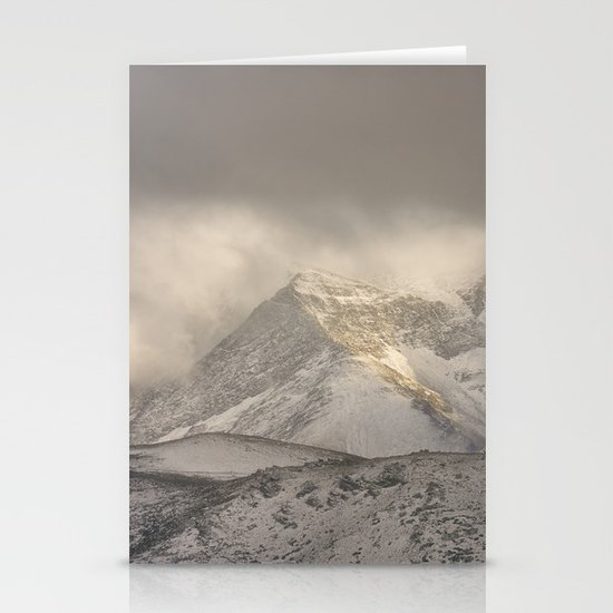 the mountain speaks to me Stationery Cards