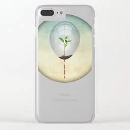 micro environment Clear iPhone Case