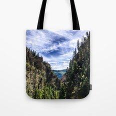 Hanging Lake Trail Tote Bag