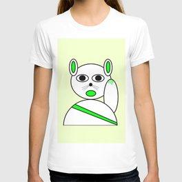 Maneki neko green version T-shirt